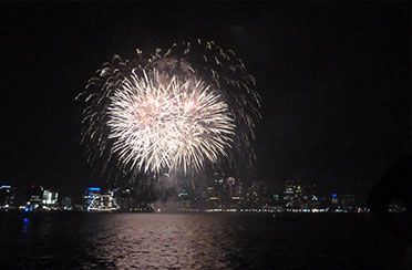 Jamestown Fireworks Cruise aboard Sloop Eleanor